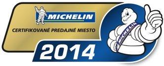 Pneucom.sk - Certifikované odberné miesto Michelin 2014