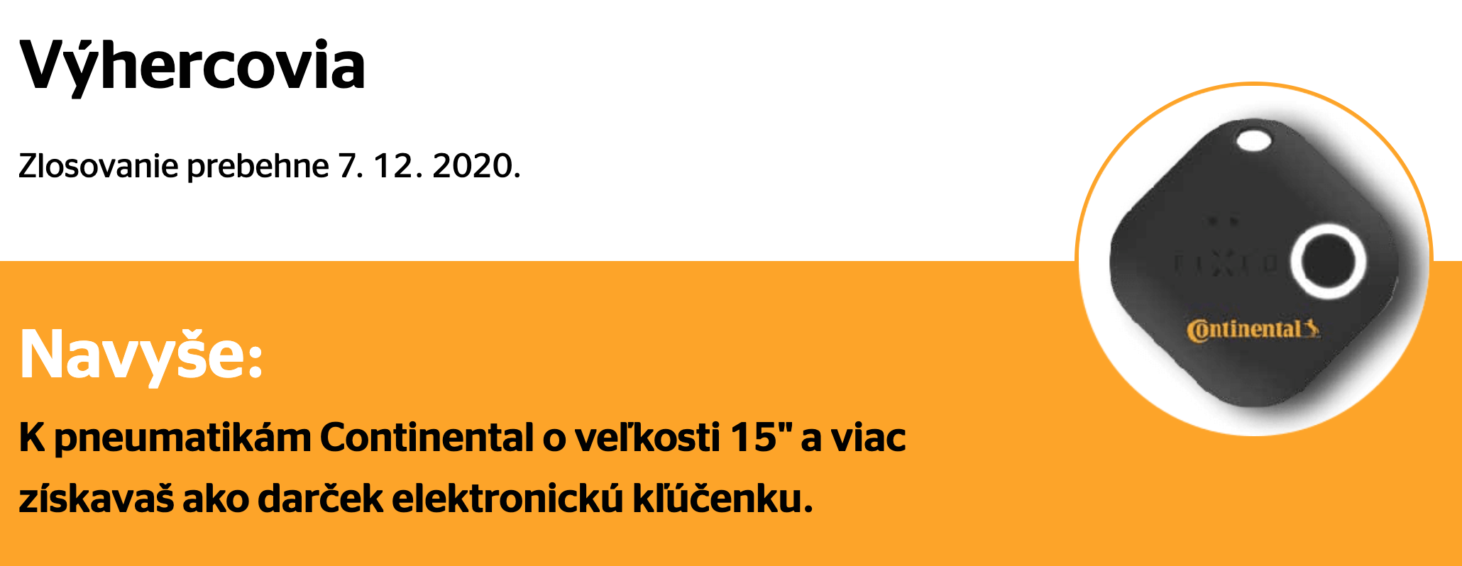 ContiHra zima 2020 kľúčenka
