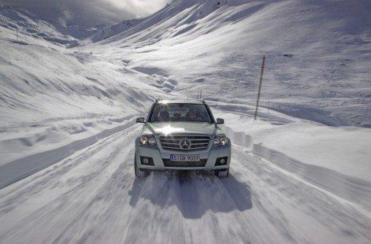 Mercedes GLK zima