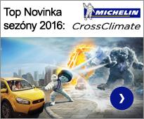 Top novinka sezóny 2016: Michelin Crossclimate