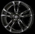 ANZIO Turn 5.5x14 5x100 ET38 racing-schwarz