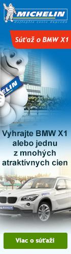 Michelin - Súťaž o BMW X1 a 200 ďalších atraktívnych cien